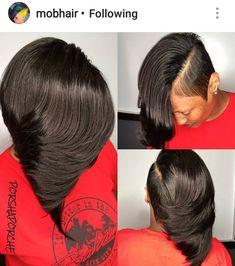 short girl hairstyles for older women Shaved Side Hairstyles, Dope Hairstyles, Black Hairstyles, Summer Hairstyles, Bob Hairstyle, Love Hair, Gorgeous Hair, Curly Hair Styles, Natural Hair Styles