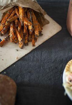 ~ Guilt Free Sweet Potato Fries