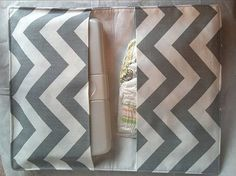 Boutique Diaper Wipe Clutch Grey Chevron  Organize purse bag mom personal great gift holder easy toddler $20  Children Baby Diaper Bag clutch baby smart wipes case diaper shower Travel zig zag