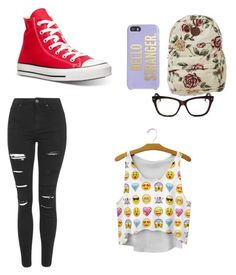 """Casual"" by xkarleysmithx ❤ liked on Polyvore featuring Christian Dior, Kate Spade, Billabong, Topshop and Converse"
