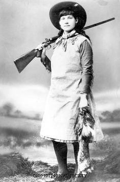 Phoebe A. Moses - Annie Oakley - Ohio History Central