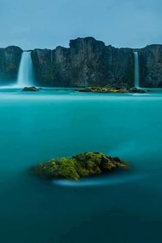 Iceland - Waterfall of the Gods