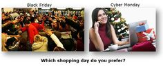 Which shopping day do you prefer?