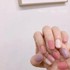 Simple Gel Nails, Cute Gel Nails, Soft Nails, Cute Acrylic Nails, Pretty Nails, Simple Elegant Nails, Korean Nail Art, Minimalist Nails, Dream Nails