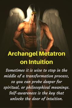 Archangel Metatron Quote on Intuition through Angel Messenger Jill Harrison