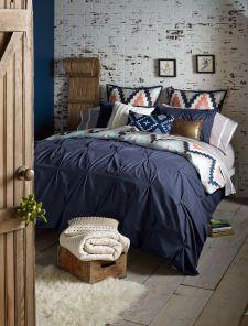 Navy Blue Duvet Set from Blissliving Home