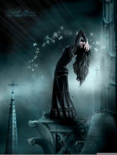 The Wallflower Anime Goth Girl   Satera der Schwarze Engels HP