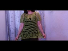 Blusa Punto Piña - YouTube