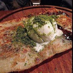 Nutellalı Dondurmalı Katmer - By Steak / İstanbul ( Reşitpaşa)