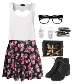 """""""Untitled #779"""" by katiemiller-v on Polyvore featuring H&M, Club L, Retrò, Topshop and Gucci"""
