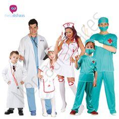 Disfraces para grupos Doctores y Enfermeras En mercadisfraces tu tienda de disfraces online, aquí podrás comprar tus disfraces para Carnaval o cualquier fiesta temática. Para mas info contacta con nosotros http://mercadisfraces.es/disfraces-para-grupos/?p=7