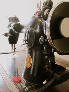 The Project Lady: Singer 201-2 Sewing Machine Motor Re-Wire & Rebuild