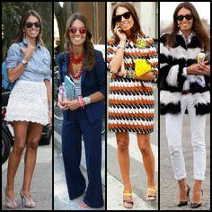 Italian fashion editor and stylist Viviana Volpicellais the essence of Italian chic.