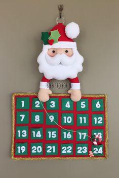 Blue Christmas, Simple Christmas, Winter Christmas, Advent Calenders, Diy Advent Calendar, Easy Christmas Crafts, Christmas Gifts, Christmas Ornaments, Felt Dolls