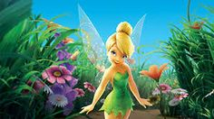 Kindertapete Fototapete FAIRIES MEADOW 368x254 Disneys Feen Elfen-Wiese Mädchen