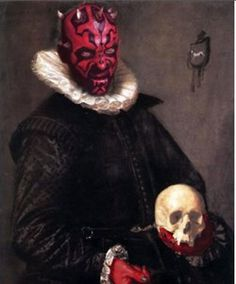 "Darth Maul...what?!  ""I was taking care of something...ugly"""