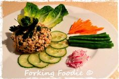 Forking Foodie: Larp Gai (Thai Spicy Minced Chicken Salad) - including Thermomix instructions