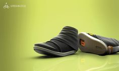 Urbanized Cycling Shoe by Jillian Tackaberry, via Behance
