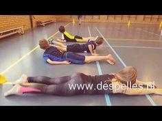 Drie estafettevormen met bal! www.despelles.nl - YouTube