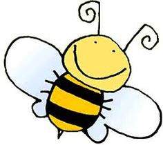 free cute bee clip art an illustration of a cute bee free stock rh pinterest com free clip art bee images free clip art beer