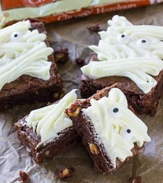 Mummy Hazelnut Brownies Recipe