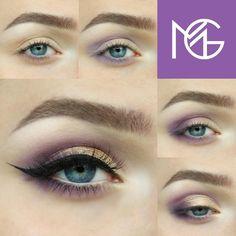 Makeup Geek Eyeshadows in White Lies, Curfew, Motown and Hopscotch + Makeup Geek Foiled Eyeshadow in Magic Act + Makeup Geek Full Spectrum Eye Liner Pencil in Nude and Immortal + Makeup Geek Sparklers in Asteroid. Look by: blendsmack