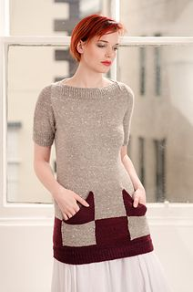 """""""Buji,"""" by Renee Callahan, knit in Fibre Company Acadia, from her Zen Variations collection."""