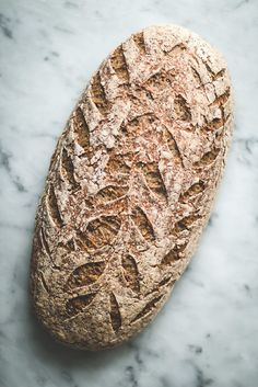 Baking Magique | Seeded Gluten Free Sourdough Bread | http://www.bakingmagique.com