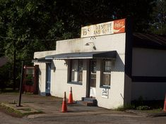 6. Don't let the exterior fool you, it ain't real BBQ unless you get it from a window! Greenville, NC