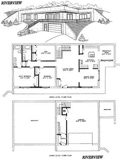 earth sheltered homes floor plans | Earth Sheltered Home Plans ...