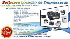 Sistema para locação de impressoras copiadoras
