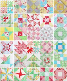 Farmer's Wife Quilt Along MidwayMosaic - Pretty by Hand - Pretty By Hand