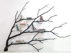 The inherent grace and beauty of trees are conserved in this collection of simple but refined furniture, made with salvaged tree branches.