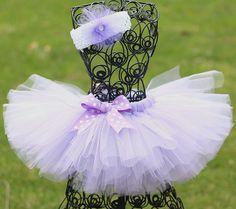 Custom Made Girls Tutu, Tutu Skirt, Princess Sofia Tutu, Easter Tutu, 0-24 mon, 2T - Purple, Lavender, White on Etsy, $29.99
