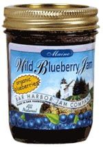 Organic Wild Maine Blueberry Jam