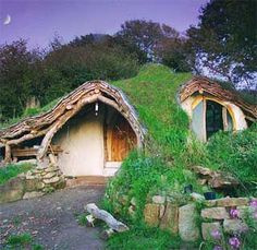 """Combine one of these plans with one for passive solar energy, and you have my dream """"off the grid"""" home."""