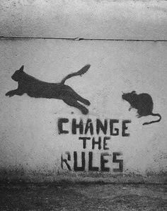 Street art or graffiti has always been an integral part of anarchist culture. Below are some of the best examples of anarchist graffiti from around Britain. Banksy Graffiti, Street Art Banksy, Arte Banksy, Bansky, Graffiti Quotes, Banksy Quotes, Quotes Quotes, Graffiti Wall, Qoutes