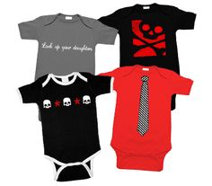 Punk rock baby clothes