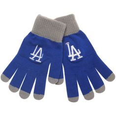 Los Angeles Dodgers Solid Knit Gloves - $9.99