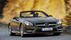 Mercedes SL 500: Perfektion bis zur Windstille  Credit: Werk/Mercedes