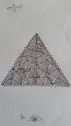 Mandala triangle
