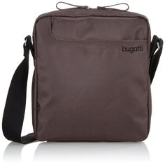 Bugatti Jason Vertical Small Messenger Bag Grey