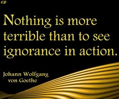 Quotes about Ignorance - Prosperity Club http://prosperityclub1.com/