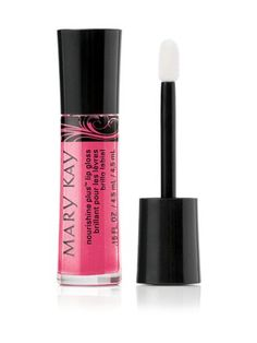 Mary Kay® NouriShine Plus® Lip Gloss in Shock Tart will brighten up your pout on your big day.