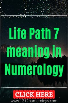 The 7 Life Path in Numerology is smart in a knowledgeable way, yet wise in a spiritual way. People with this Life Path number enjoy gaining book smarts, but they are also more connected to their higher self than most and have great access to this inner wisdom. While they are spiritual creatures, though, number 7 people don't tend to be the religious type. Strict doctrines that don't make room for new information are a turn-off to these inquisitive folk. Life Path Number 7, Number Patterns, Numerology, Paths, Meant To Be, Folk, Spirituality, Knowledge, Creatures
