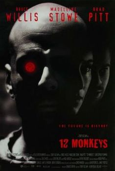 Twelve Monkeys (1995) movie #poster, #tshirt, #mousepad, #movieposters2