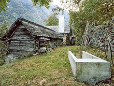 House in Linescio by Buchner Bründler Architekten