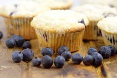 Perfect Blueberry Muffins are easy and delicious! A perfect breakfast recipe that you can make ahead, and even freeze for later. This recipe was handed down through the generations, and let me tell you, it is FABULOUS! Breakfast Options, Perfect Breakfast, Breakfast Recipes, Best Blueberry Muffins, Blue Berry Muffins, Muffin Recipes, Freezer Meals, Bakery, Good Food