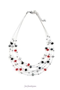 Hot Wired Necklace $24 (N-010008 - The Finishing Touch) pg. 35