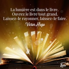 Citation de Victor Hugo French Phrases, French Quotes, Poet Quotes, Words Quotes, Take A Smile, World Of Books, Human Nature, Live Love, Life Lessons